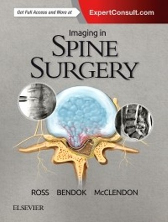 Test Bank for Imaging in Spine Surgery 1st Edition Ross