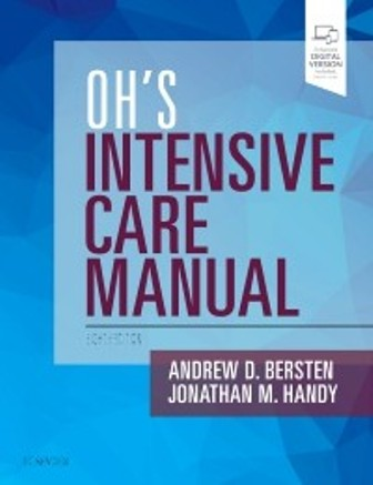 Test Bank for Oh's Intensive Care Manual 8th Edition Bersten