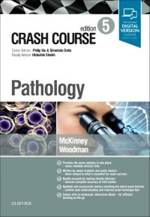 Test Bank for Crash Course Pathology 5th Edition Mckinney