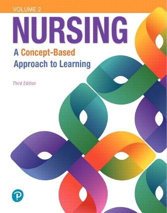 Test Bank for Nursing A Concept-Based Approach to Learning Volume II 3rd Edition Pearson Education