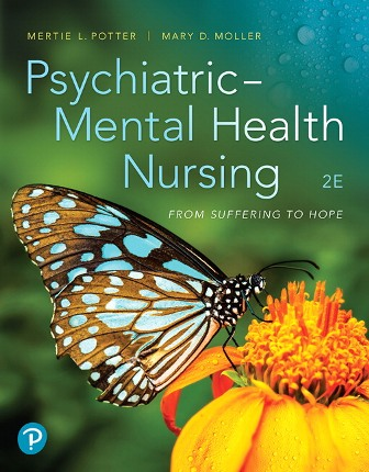 Test Bank for Psychiatric-Mental Health Nursing From Suffering to Hope 2nd Edition Potter
