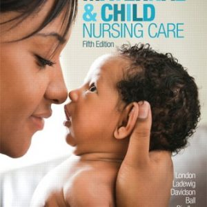 Test Bank for Maternal & Child Nursing Care 5th Edition London