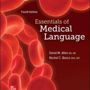 Test Bank for Essentials of Medical Language, 4th Edition, Allan