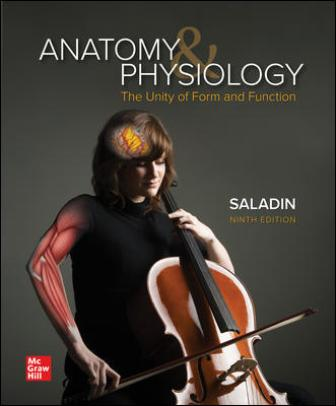 Test Bank for Anatomy & Physiology: The Unity of Form and Function 9th Edition Saladin