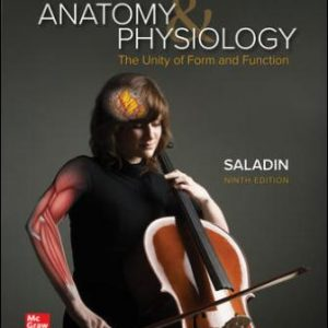 Test Bank for Anatomy and Physiology: The Unity of Form and Function 9th Edition Saladin