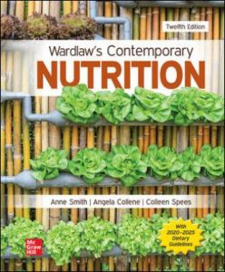 Solution Manual for Wardlaw's Contemporary Nutrition, 12th Edition Smith