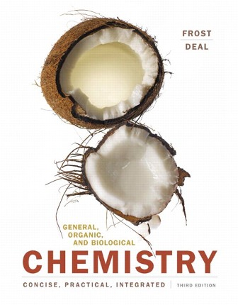 Test Bank for General Organic and Biological Chemistry 3rd Edition Frost